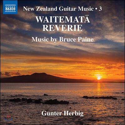 Gunter Herbig 뉴질랜드 기타 작품 3집 (Bruce Paine: New Zealand Guitar Music, Vol. 3)