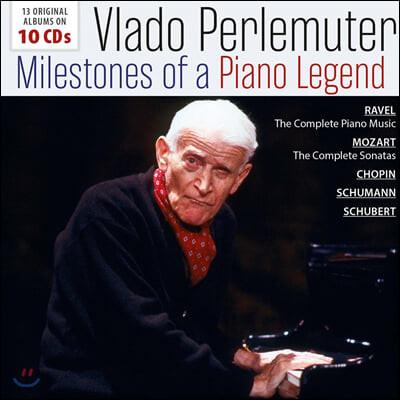 Vlado Perlemuter 블라도 페를뮈테르 피아노 연주집 (Milestones Of A Piano Legend)