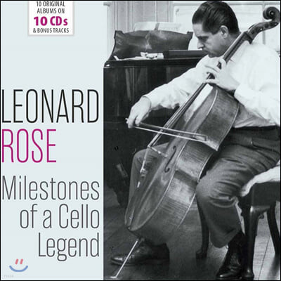 Leonard Rose 레너드 로즈 첼로 연주집 (Milestones Of A Cello Legend)