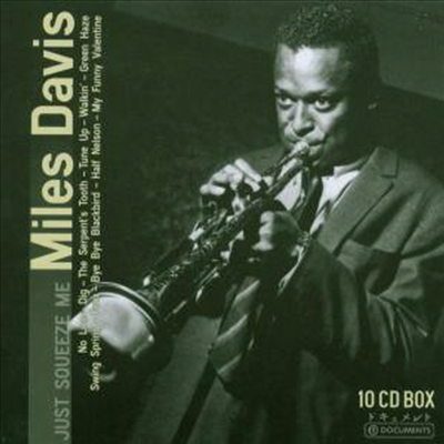 Miles Davis - Just Squeeze Me (10CD Wallet Box Set)