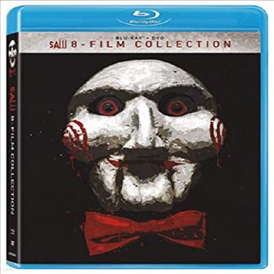 Saw - 8-Film Collection (쏘우 8 필름 컬렉션)(한글무자막)(Blu-ray)