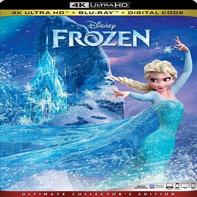 Frozen (겨울왕국) (2013) (한글무자막)(4K Ultra HD + Blu-ray + Digital Code)