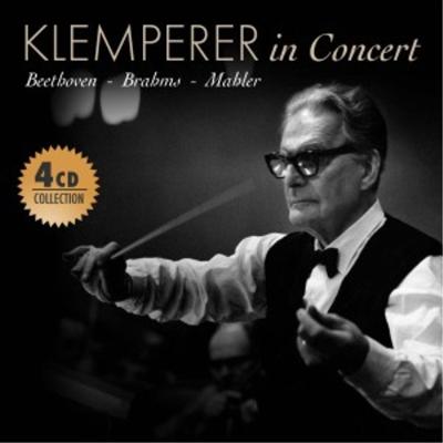 베토벤: 장엄미사, 교향곡 9번, 브람스: 독일 진혼곡, 말러: 교향곡 4번 (Otto Klemperer - In Concert: Beethoven, Brahms & Mahler) (4CD Set) - Otto Klemperer