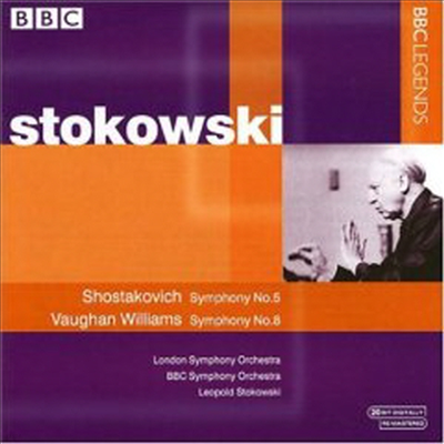 쇼스타코비치 : 교향곡 5번, 본 윌리엄스 : 교향곡 8번 (Shostakovich : Symphony No.5 Op.47, Vaughan Williams : Symphony No.8) - Leopold Stokowski