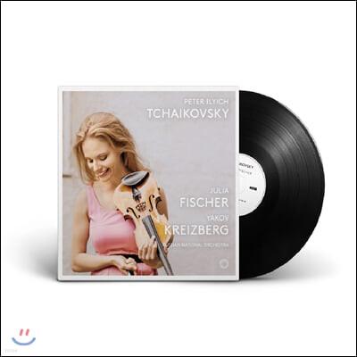Julia Fisher 차이코프스키: 바이올린 협주곡, 우울한 세레나데 - 율리아 피셔 [2LP]
