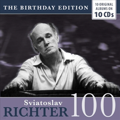 스뱌토슬라프 리흐테르 - 피아노의 거장 (Sviatoslav Richter - Birthday Edition) (10CD Boxset) - Sviatoslav Richter