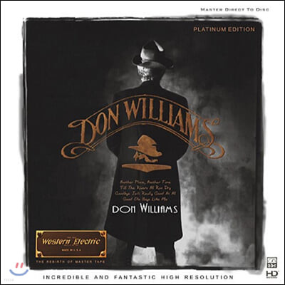 Don Williams (돈 윌리엄즈) - Platinum Edition