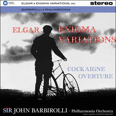 John Barbirolli 엘가: 수수께끼 변주곡, 코케인 서곡 (Elgar: Enigma Variations, Cockaigne Overture) [LP]