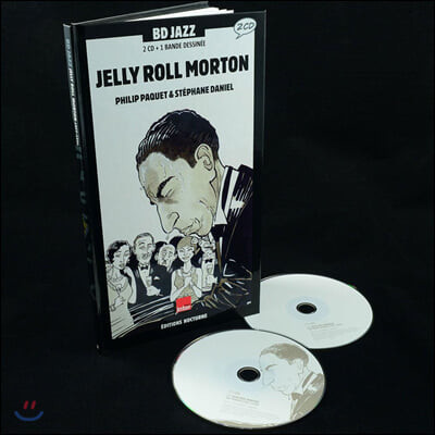 젤리 롤 모턴 연주 모음집 (Jelly Roll Morton - Illustrated by Philip Paquet / Stephane Daniel)