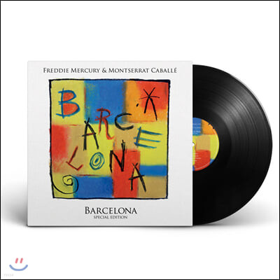 Freddie Mercury (프레디 머큐리) - Barcelona [LP]