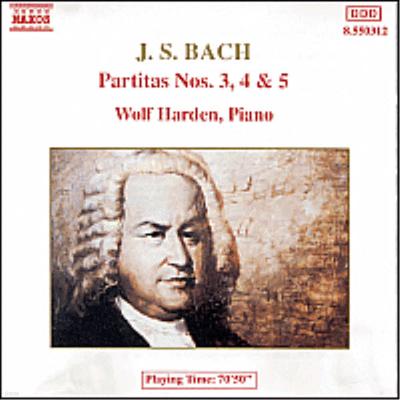 바흐 : 파르티타 3-5번 (Bach : Partita Nos.3-5 BWV827-829) - Wolf Harden