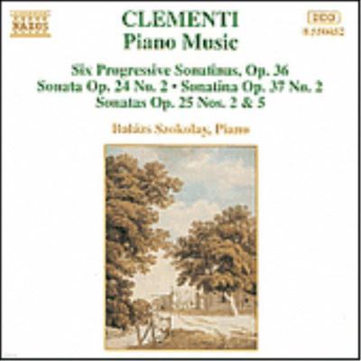 클레멘티 : 피아노 작품집 - 6개의 진보적인 소나티나, 소나타 작품 24 외 (Clementi : Piano Music - 6 Progressive Sonatinas, Sonata Op.24) - Balazs Szokolay