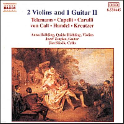 두 대의 바이올린과 한 대의 기타 2집 (2 Violins And 1 Guitar Ii) - Anna Holbling