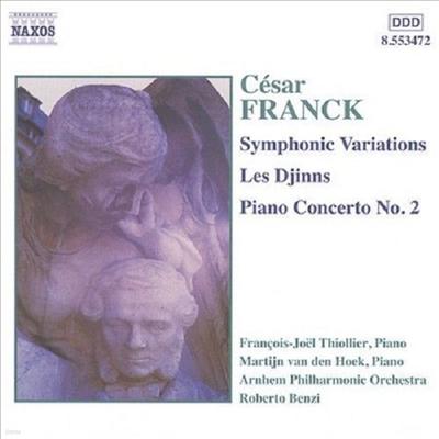 프랑크 : 교향적 변주곡, 귀신, 피아노 협주곡 2번 (Franck : Symphonic Variations, Les Djinns, Piano Concerto No.2 Op.11)(CD) - Francois-Joel Thiollier