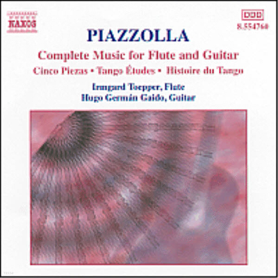 피아졸라 : 플루트와 기타 작품 전집 (Piazzolla : Complete Music For Flute And Guitar) - Hugo German Gaido