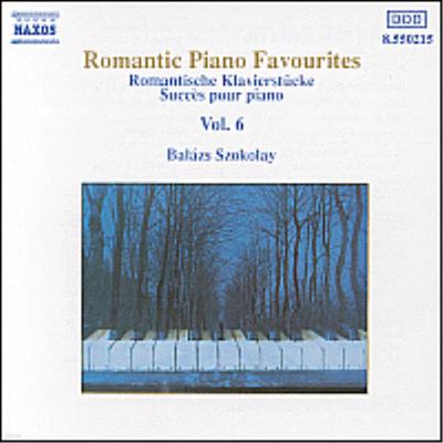 로맨틱 피아노 유명작품 6집 (Romantic Piano Favourites, Vol.6) - Balazs Szokolay