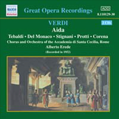 베르디: 아이다 (Verdi: Aida) (2CD) - Mario del Monaco