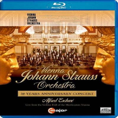빈 요한 슈트라우스 오케스트라 창립 50주년 공연 (Vienna Johann Strauss Orchestra - 50 Years Anniversary Concert) (Blu-ray) (2019) - Alfred Eschwe