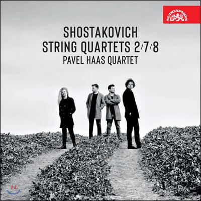 Pavel Haas Quartet 쇼스타코비치: 현악 사중주 2번, 7번, 8번 - 파벨 하스 콰르텟