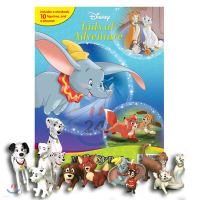 Disney Classics #2 My Busy Book : Tails of Adventure : Dumbo, Pongo, Duchess, Copper, And Their Friends 디즈니 클래식 2 비지북