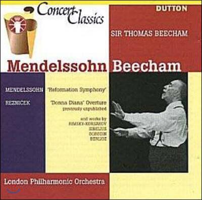 Thomas Beecham 멘델스존 관현악 모음집 (Mendelssohn: Reformation Symphony)