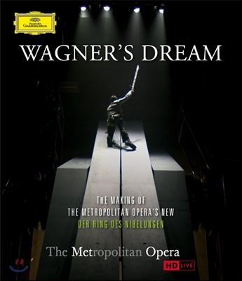 바그너의 꿈 - 메트로폴리탄 반지 제작 다큐멘터리 (Blu-ray)