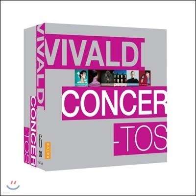 Christophe Coin / Sergio Azzolini 비발디: 협주곡 모음 박스세트 (Vivaldi: Concerti I)