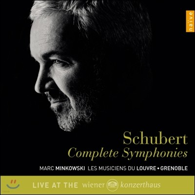 Marc Minkowski 슈베르트: 교향곡 전곡집 - 마크 민코프스키, 루브르의 음악가들 (Franz Schubert: Symphonies Nos. 1-9 Complete)