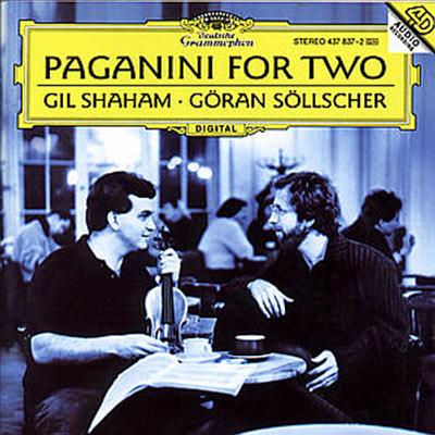 파가니니 : 바이올린과 기타를 위한 작품집 (Paganini for Two) - Gil Shaham