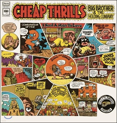 Big Brother & The Holding Company (빅 브라더 앤 더 홀딩 컴퍼니) - Cheap Thrills [LP]