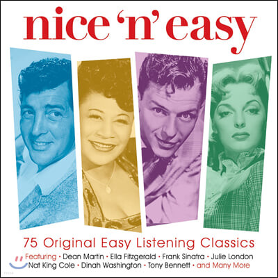 이지 리스닝 모음집 (Nice 'n' Easy: 75 Original Easy Listening Classics)