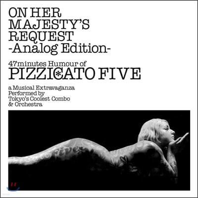 Pizzicato Five (피치카토 파이브) - 3집 On Her Majesty's Request [LP]