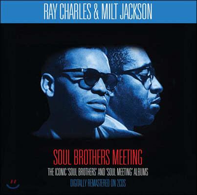 Ray Charles & Milt Jackson (레이 찰스 & 밀트 잭슨) - Soul Brothers Meeting