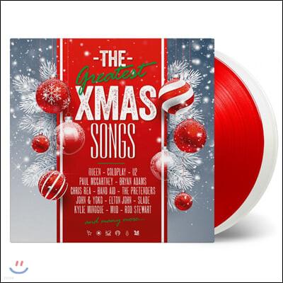 크리스마스 히트곡 모음집 (The Greatest X-Mas Songs) [화이트 & 레드 컬러 2LP]
