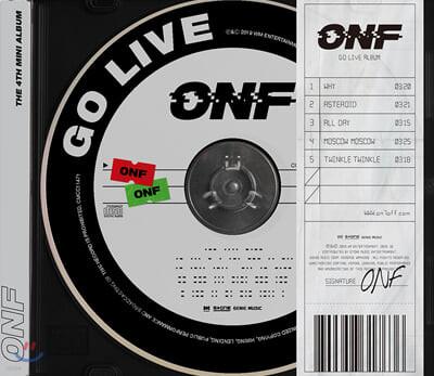 온앤오프 (ONF) - 미니앨범 4집 : GO LIVE