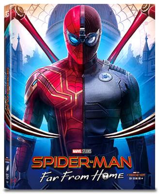 스파이더맨 : 파 프롬 홈 풀슬립 A3(3disc: 3D+2D+보너스 스틸북 한정판) : 블루레이
