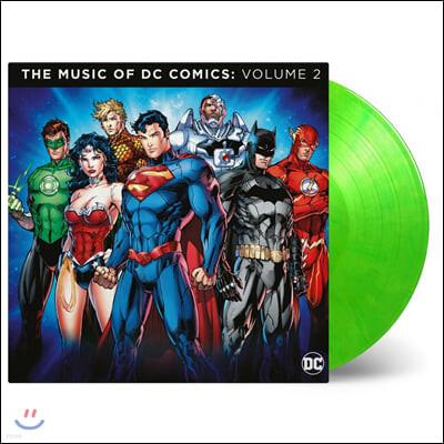 DC 코믹스 컴필레이션 2집 (The Music of DC Comics: Volume 2) [라임 그린 컬러 2LP]