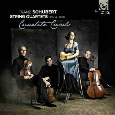 Cuarteto Casals 슈베르트: 현악 사중주 10번 15번 (Schubert: String Quartets D87, D.887) 카잘스 사중주단