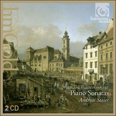 Andreas Staier 모차르트: 피아노 소나타 [포르테피아노 연주반] (Mozart: Piano Sonatas) 안드레아스 슈타이어