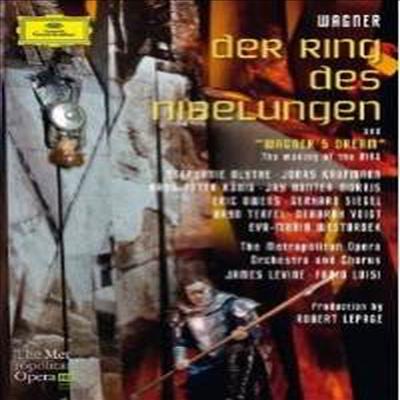 바그너: 니벨룽겐의 반지 (Wagner: Der Ring Des Nibelungen) (한글무자막)(8DVD Boxset) (2012)(DVD) - Jonas Kaufmann