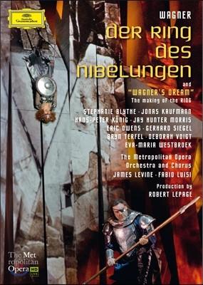 James Levine 바그너: 니벨룽겐의 반지 (Wagner: Der Ring Des Nibelungen) 8DVD 박스세트 - 제임스 레바인