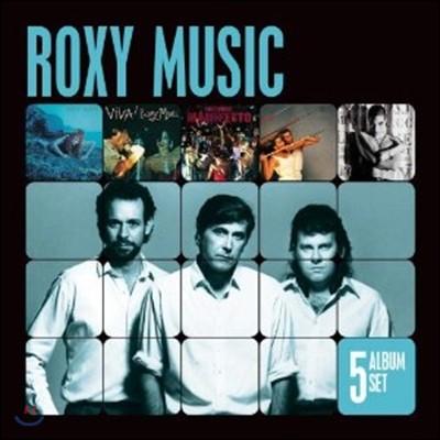 Roxy Music - 5 Album Set (Siren/Viva Roxy Music/Manifesto/Flesh And Blood/Heart Still Beating)