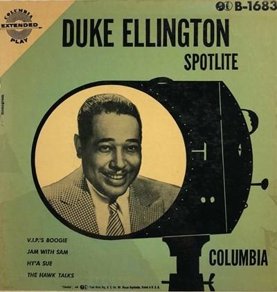 [중고 LP] Duke Ellington And His Orchestra - Duke Ellington Spotlite (US 수입반)