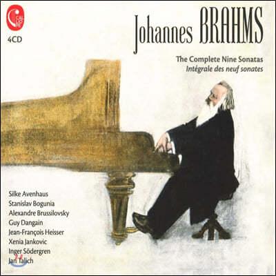 브람스: 아홉 개의 소나타 모음집 (Brahms: Complete Nine Sontats)