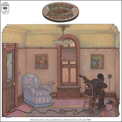 Robert Johnson (로버트 존슨) - King of the Delta Blues Singers Vol. 2  [LP]