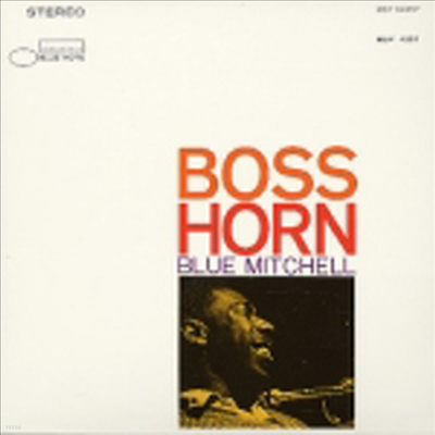 Blue Mitchell - Boss Horn (RVG Edition/Lp Sleeve/일본반)