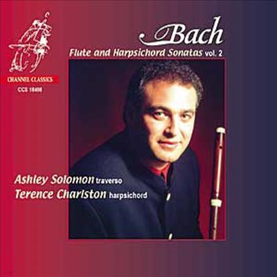 바흐 : 플루트 소나타 2집 (Bach : Flute And Harpsichord Sonatas Vol.2) - Ashley Solomon