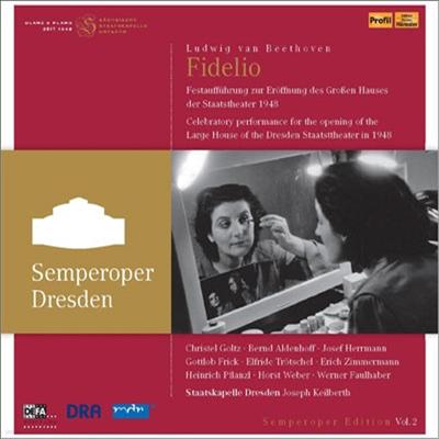 베토벤 : 오페라 '피델리오' (Beethoven : Fidelio, Op. 72) (+DVD) - Joseph Keilberth