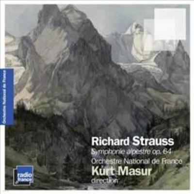 쉬트라우스 : 알프스 교향곡 (Strauss, R : Eine Alpensinfonie, Op. 64) - Kurt Masur