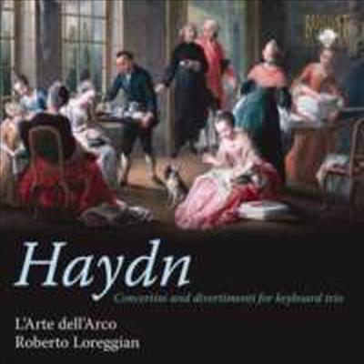 Haydn : Concertini & Divertimenti for Keyboard Trios - L'Arte Dell'Arco